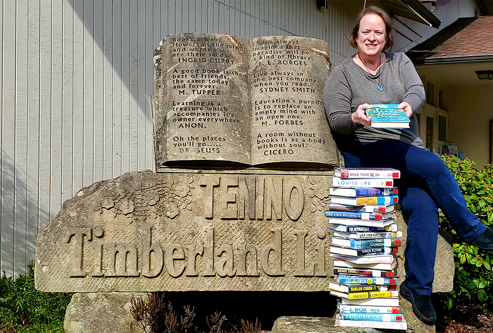 Tenino Library Manager